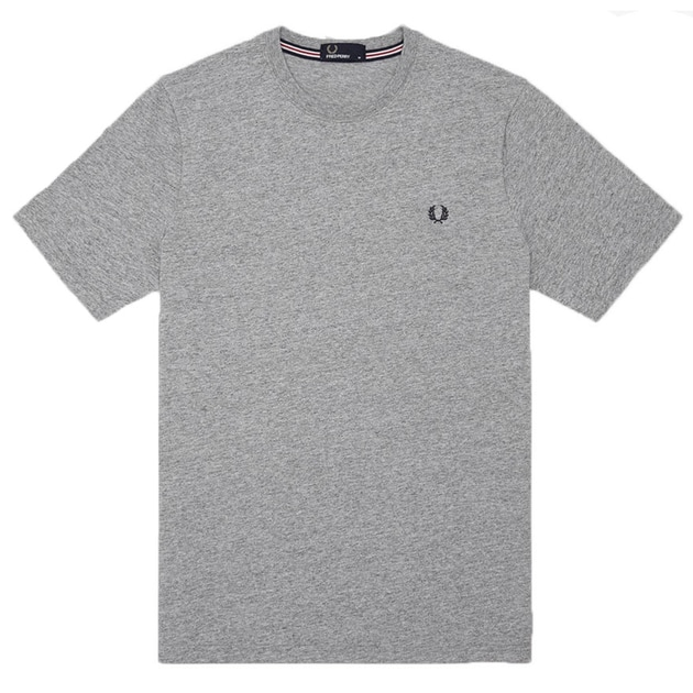Fred Perry Crew Neck T-Shirt Grau