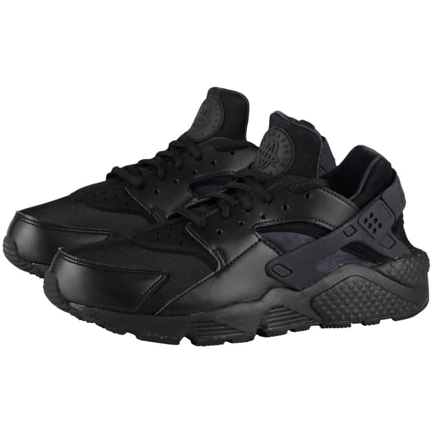 Nike Wmns Air Huarache Run Schwarz