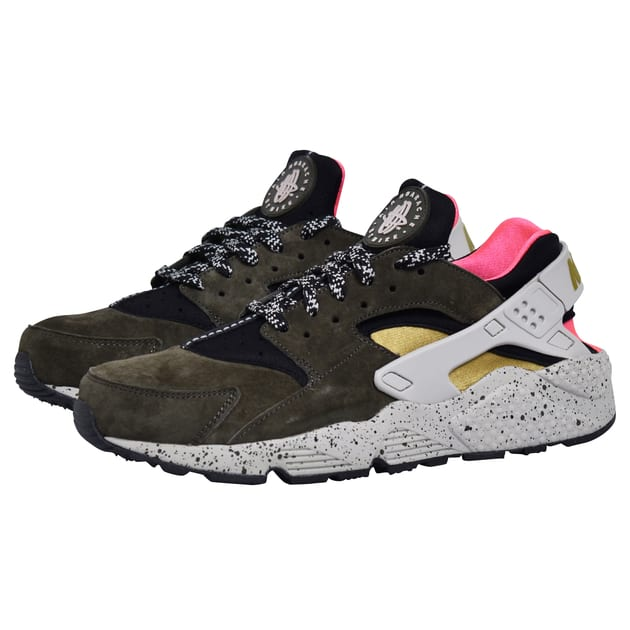 Nike Nike Air Huarache Run PRM Schwarz