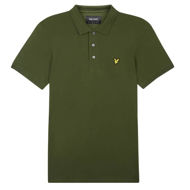 Lyle & Scott Polo Shirt Oliv