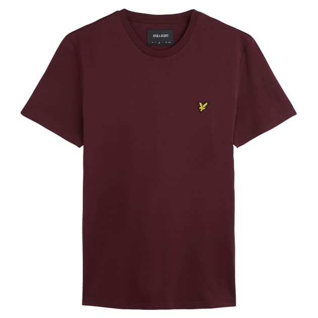 Lyle & Scott T-Shirt Dunkelrot