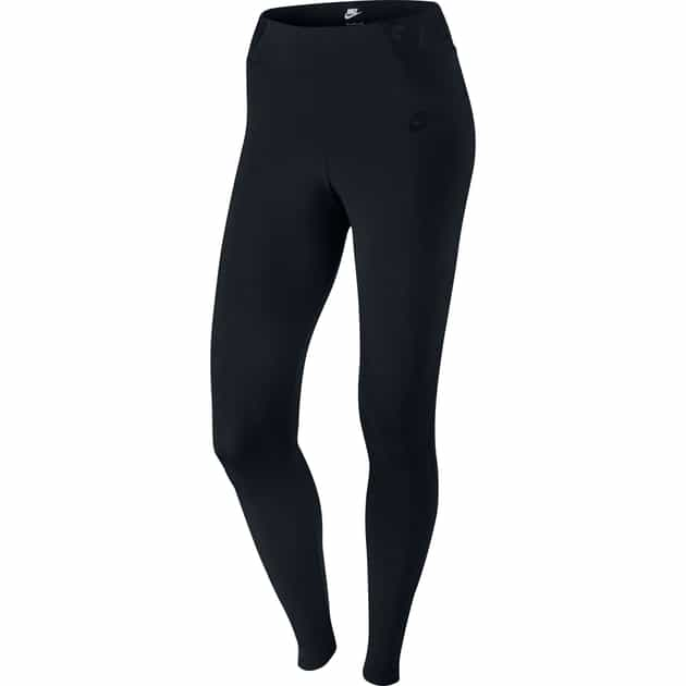 Nike Burnout Leggings Schwarz