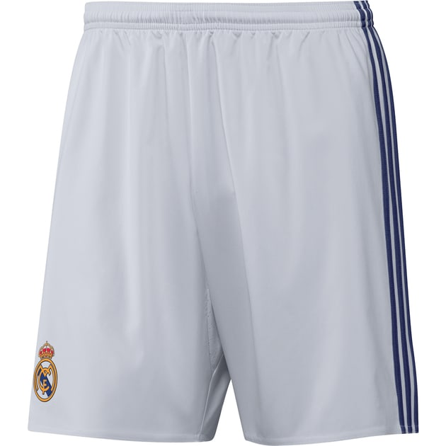 adidas Real Madrid Home Short Weiß