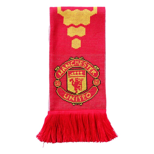 adidas Manchester United Home Schal Rot