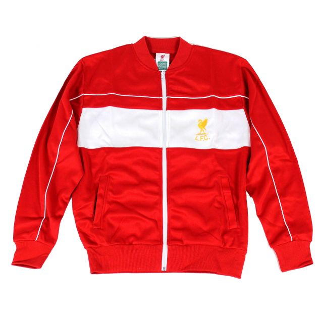 Score Draw FC Liverpool Track Jacket 1982 Rot
