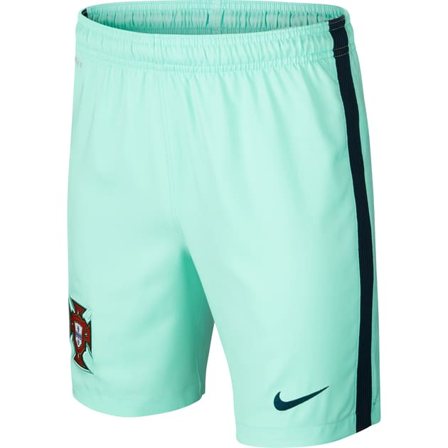 Nike Portugal Home Away Short Kids Grün