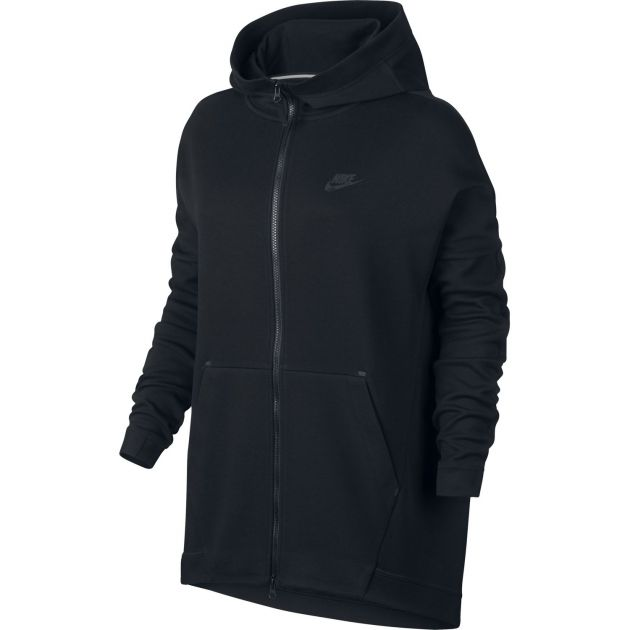 Nike Nike Tech Fleece Cape Schwarz