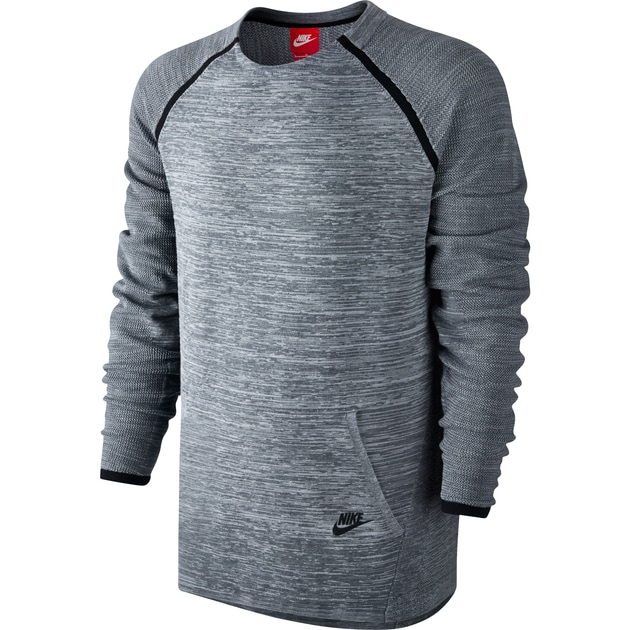 Nike Tech Knit Crew Anthrazit