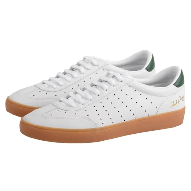 Fred Perry Umpire Leather Weiß