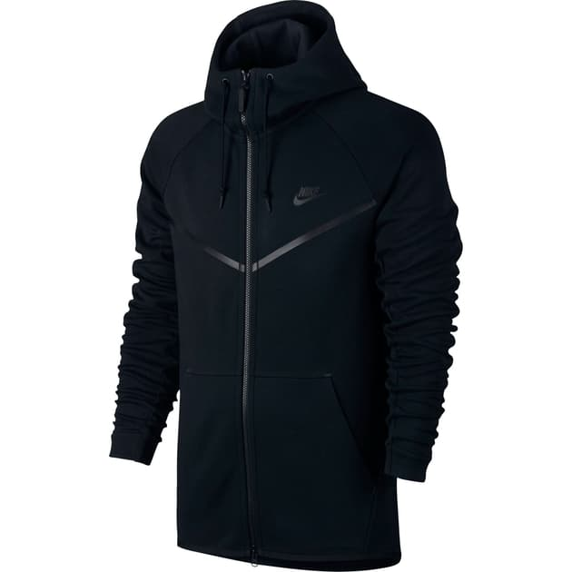 Nike M NSW Tech Fleece WR Hoodie FZ Schwarz