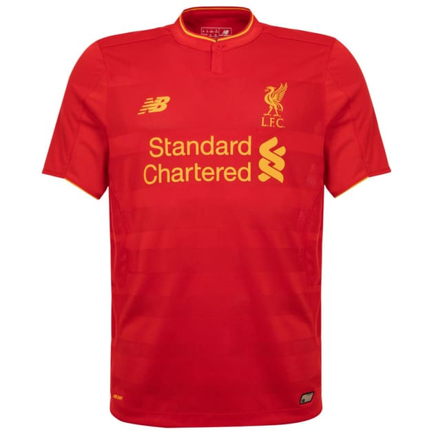 New Balance FC Liverpool Home Trikot Rot