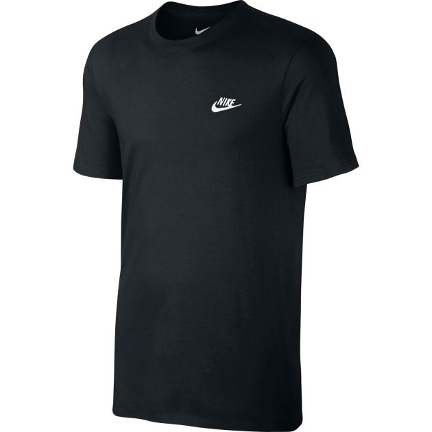 Nike NSW TEE CLUB EMBRD FTRA Schwarz
