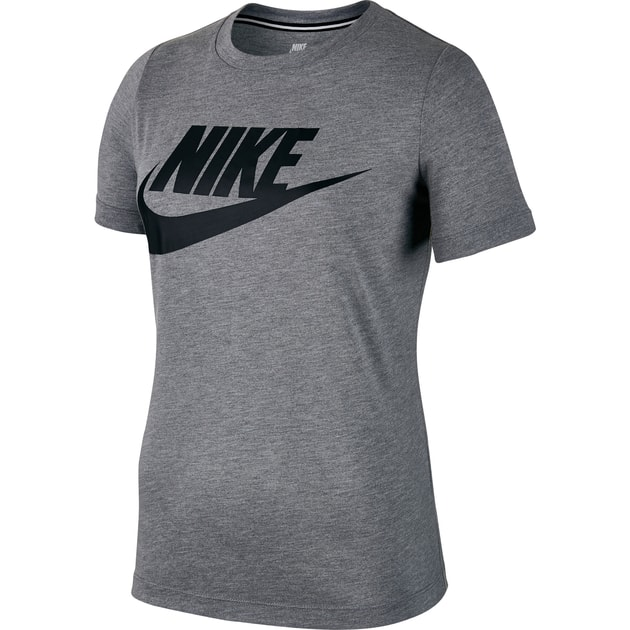 Nike W NSW Essential Tee Hybrid - T-Shirts (Anthrazit | XS)