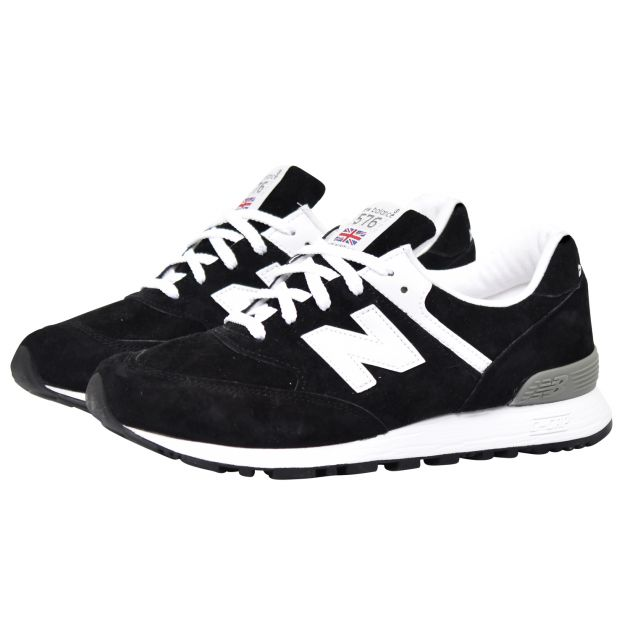 New Balance W576 Made in England Schwarz