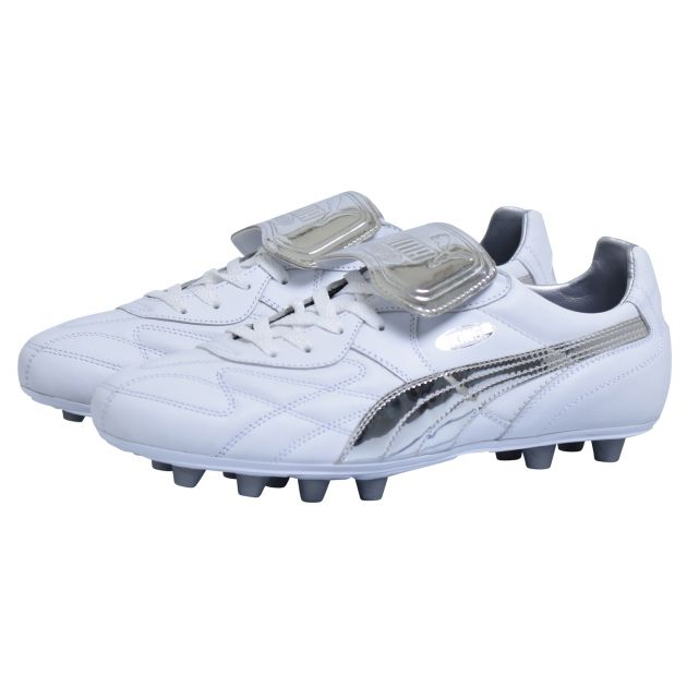 Puma King Top Chrome Weiß
