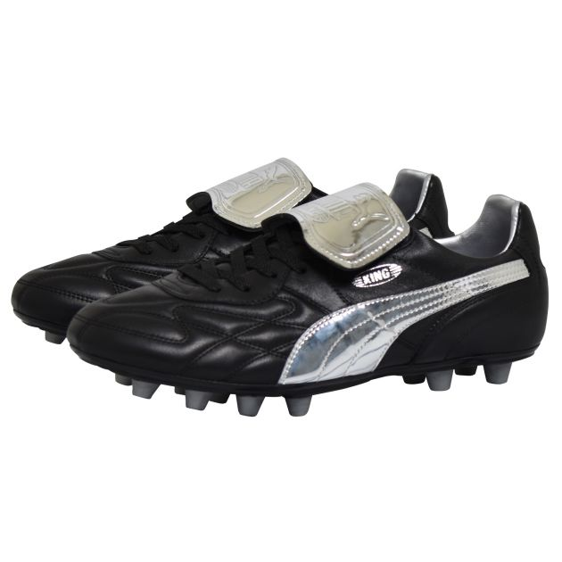 Puma King Top Chrome Schwarz
