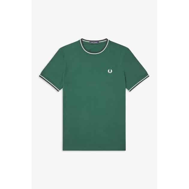 Fred Perry Twin Tipped T-Shirt bei Sport Münzinger München