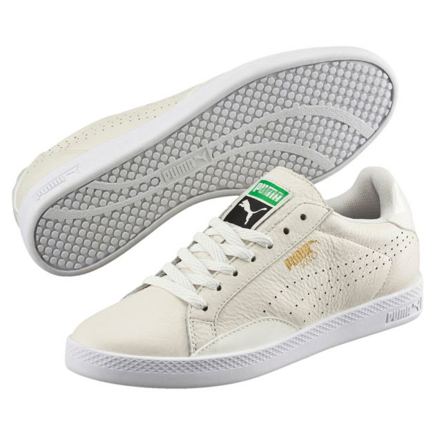 Puma Match Lo Black and White W Beige
