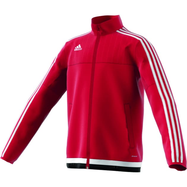 adidas Tiro 15 Training Jacket Kids Rot