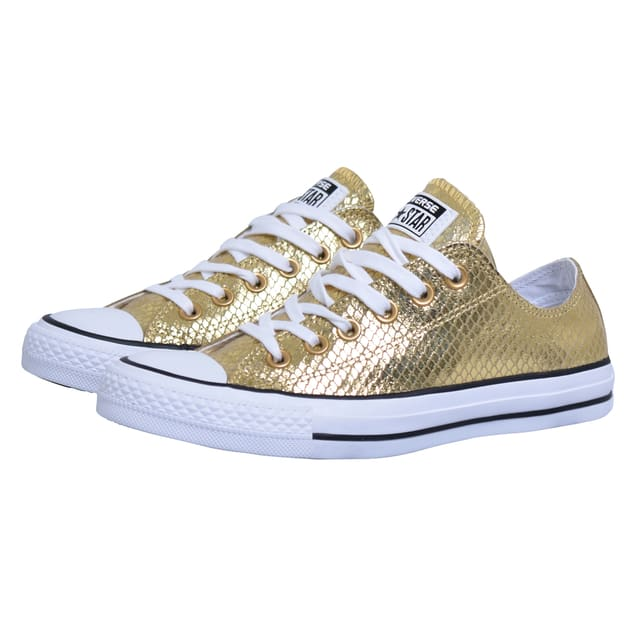 Converse Chuck Taylor All Star II OX metallic Gold