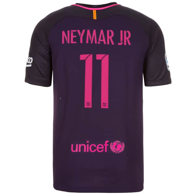 Dekographics FC Barcelona Kinder Away 2016/17 Flock Neymar Jr.