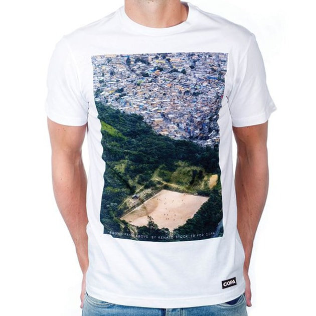 Copa Ground From Above T-Shirt Weiß