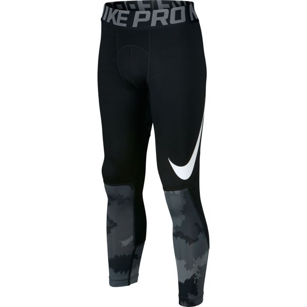 Nike Hyperwarm Tight Kids Schwarz
