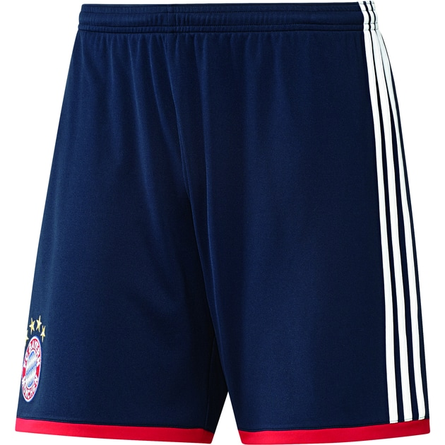 adidas FC Bayern Away Short Blau