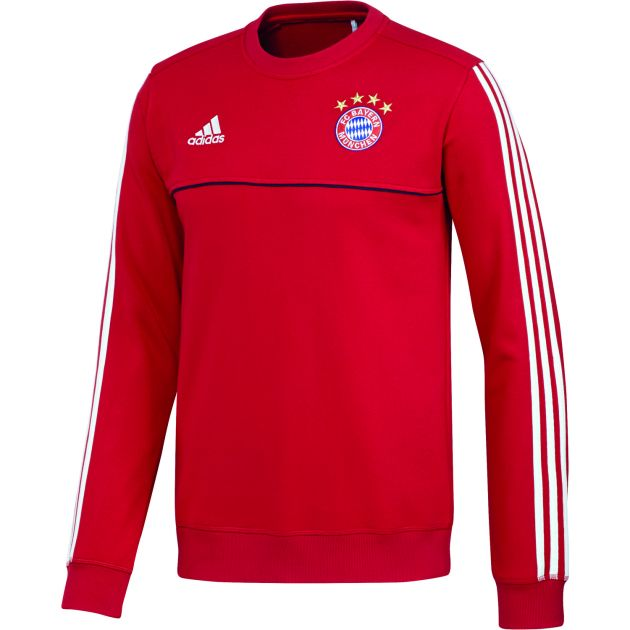 adidas FC Bayern Sweat Top Rot