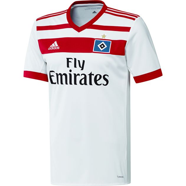 adidas Hamburger SV Home Trikot Kids Weiß