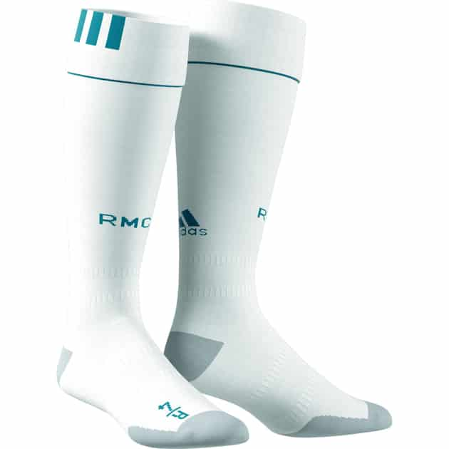 adidas Real Madrid Home Socks Weiß