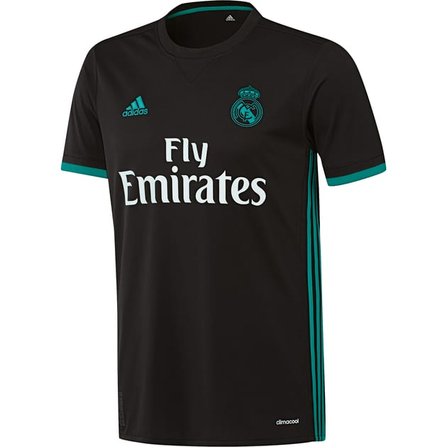 adidas Real Madrid Away Trikot Kids Schwarz
