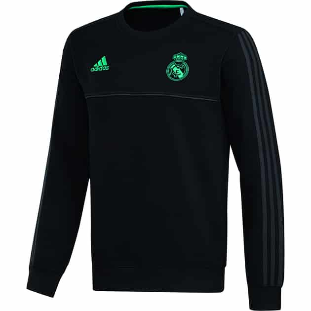 adidas REAL Madrid Sweat Top Schwarz