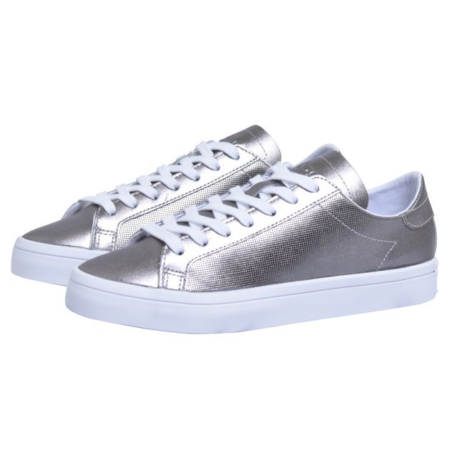 adidas Originals COURTVANTAGE W Silber