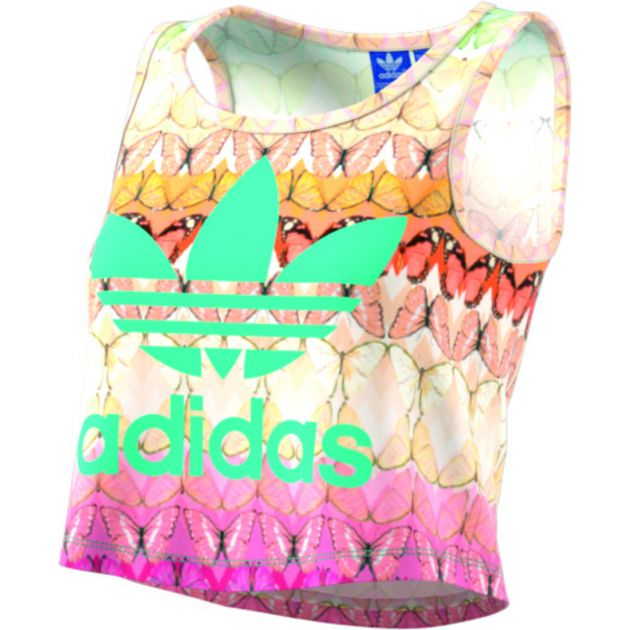 adidas Originals B L CROP TANK Bunt