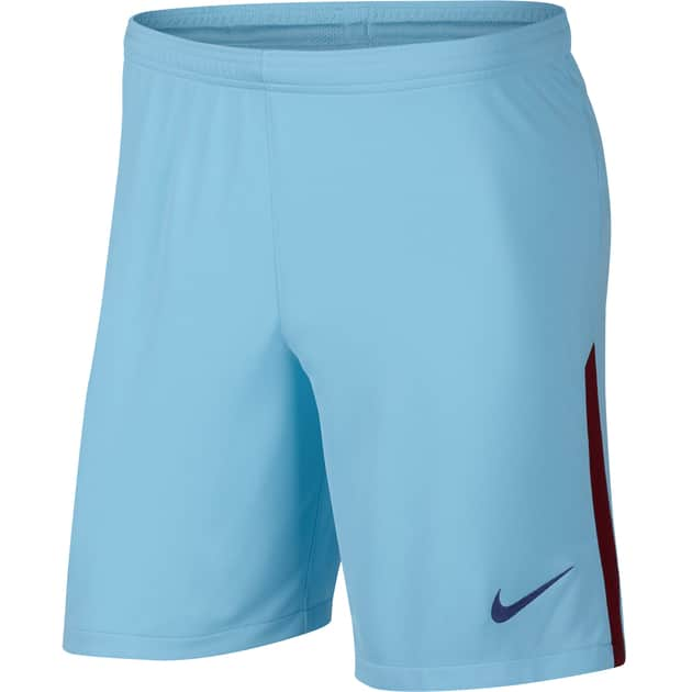 Nike FC Barcelona Home Away Short Kids Hellblau