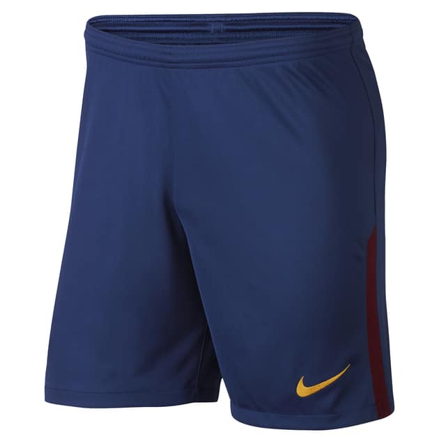 Nike FC Barcelona Home Away Short Kids Dunkelblau