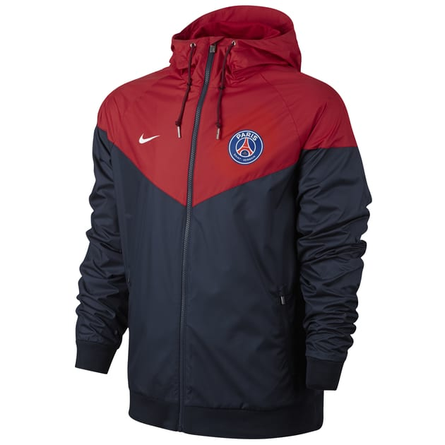 Nike Paris Saint Germain Authentic Windrunner Jacket Rot