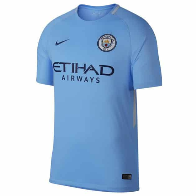 Nike Manchester City Home Trikot Kids Blau