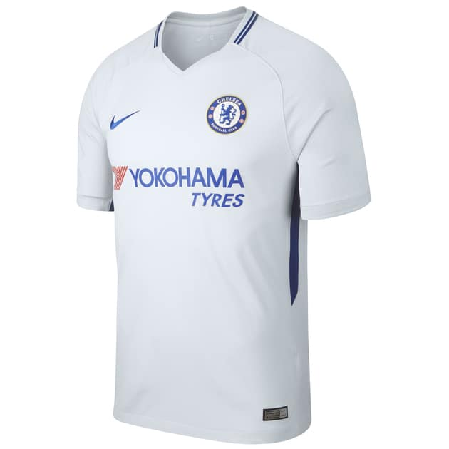 Nike Chelsea Away Trikot - Premier League (Grau...