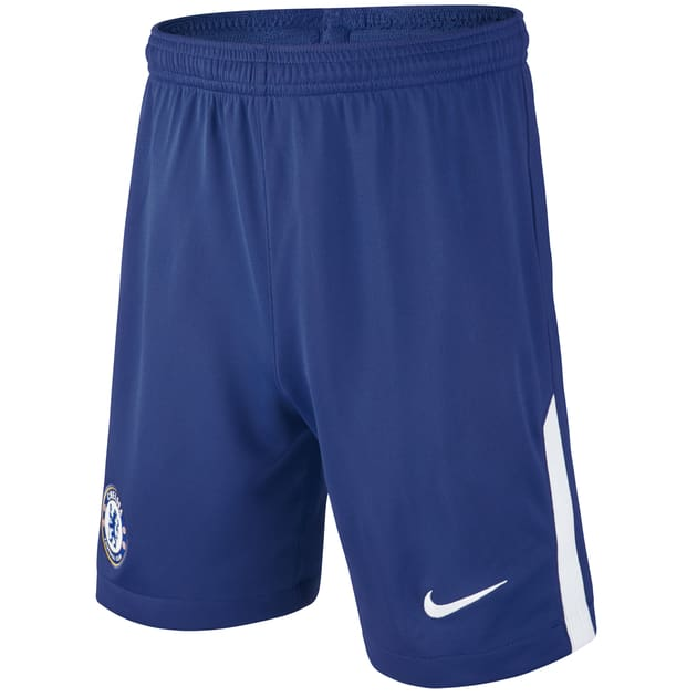 Nike Chelsea Home Away Short Kids Blau