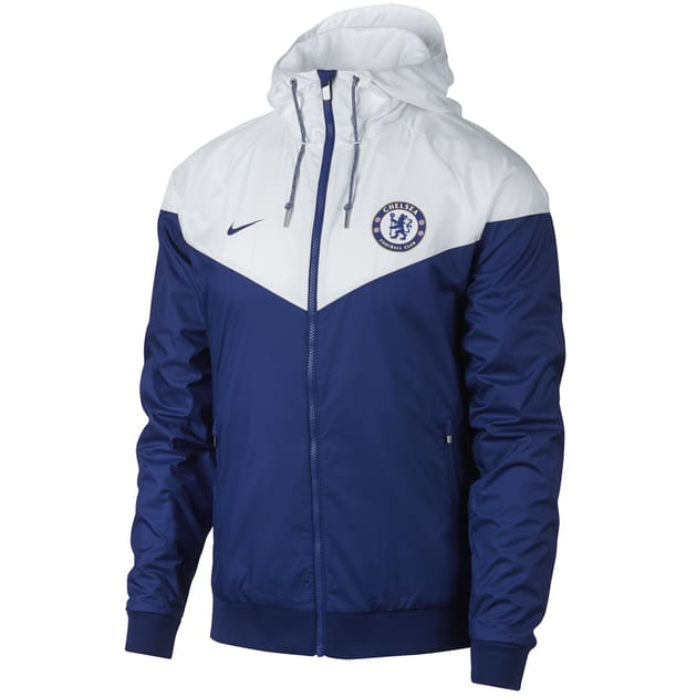 Nike Chelsea Authentic Windrunner Blau