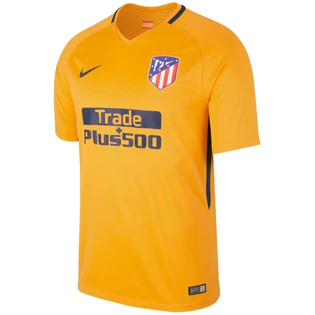 Nike Atletico Madrid Away Trikot Gelb