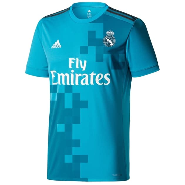 adidas Real Madrid 3rd Trikot Kids Weiß