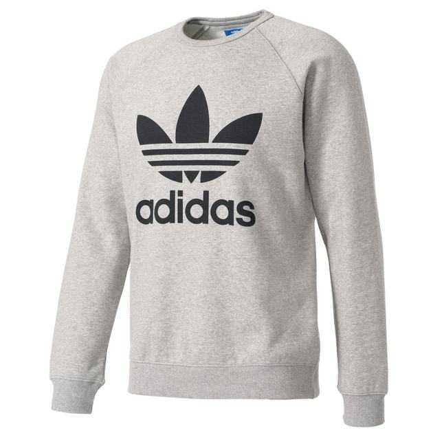 adidas Originals TREFOIL CREW Anthrazit