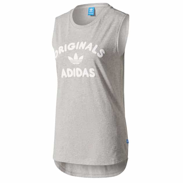 adidas Originals TANK TOP Hellgrau