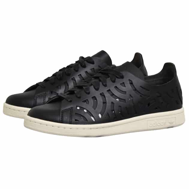 adidas Originals STAN SMITH CUTOUT W Schwarz