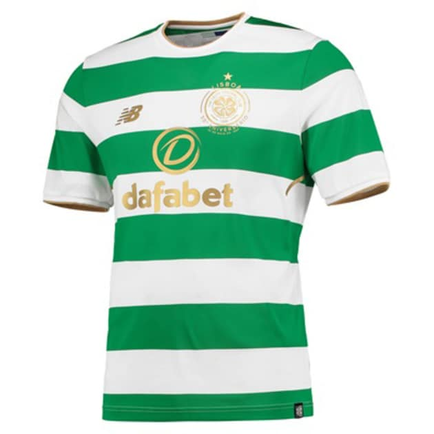 New Balance Celtic Glasgow Home Jersey Grün