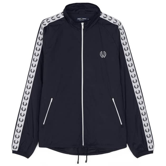 Fred Perry Taped Sports Jacket Dunkelblau