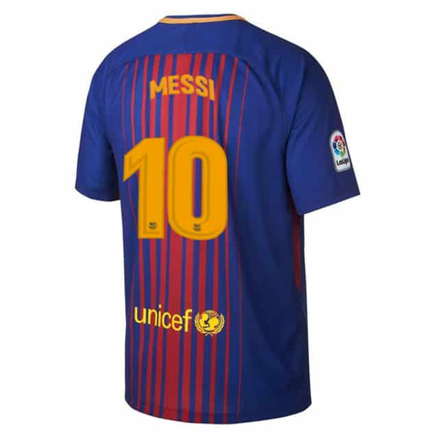 Dekographics FC BARCELONA KINDER HOME 2017/18 FLOCK Messi